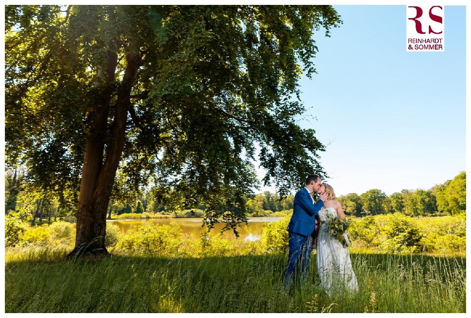 Hochzeitsfotos am Nachmittag