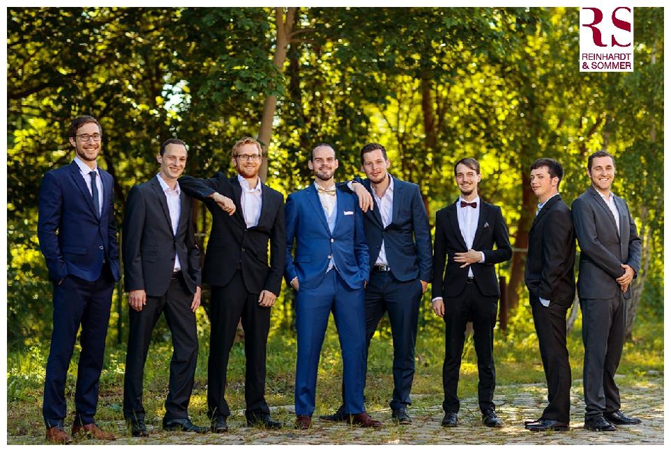 Fotos mit dem Bräutigam