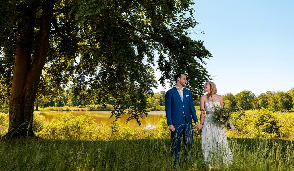 Hochzeitsfotos im Schlosspark von Petzow