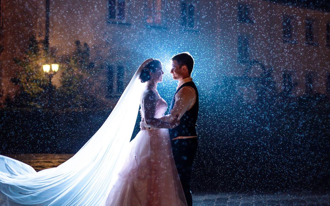 5 Tipps für Hochzeitsfotos im Regen