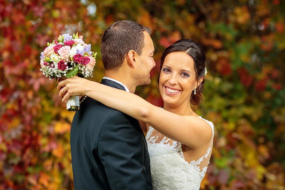 Hochzeitsfotograf Hauptstadt Brautpaar im Oktober