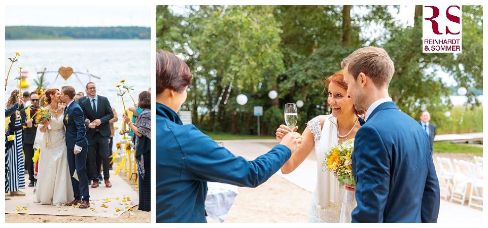 Herzlichen Glückwunsch dem Brautpaar!