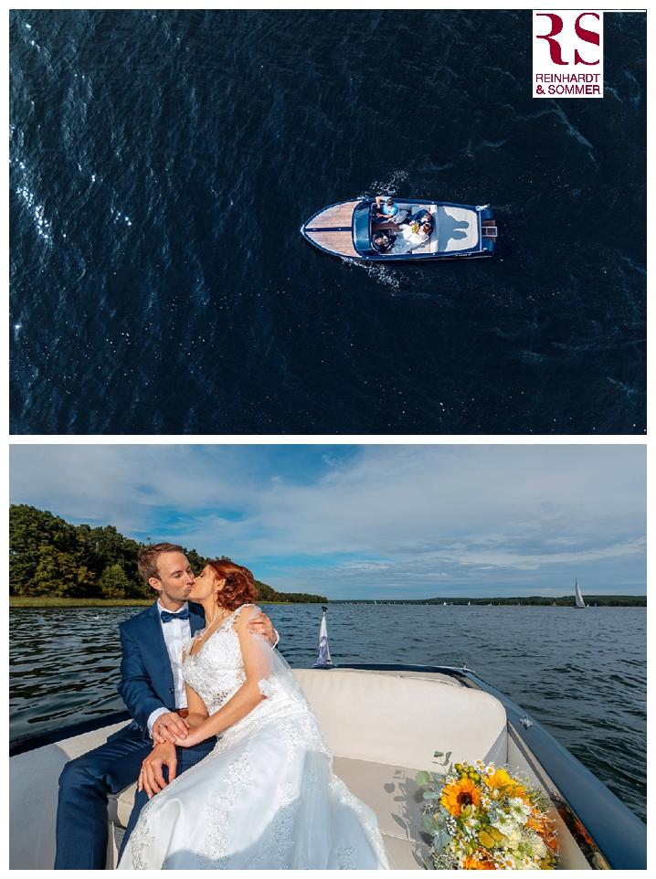 Mit dem Boot ging es dann zurück zum A-Rosa Resort