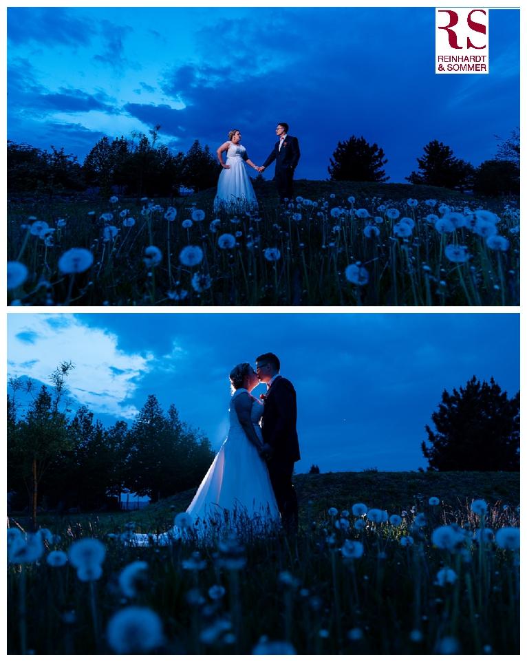 Aufnahmen zur Blauen Stunde