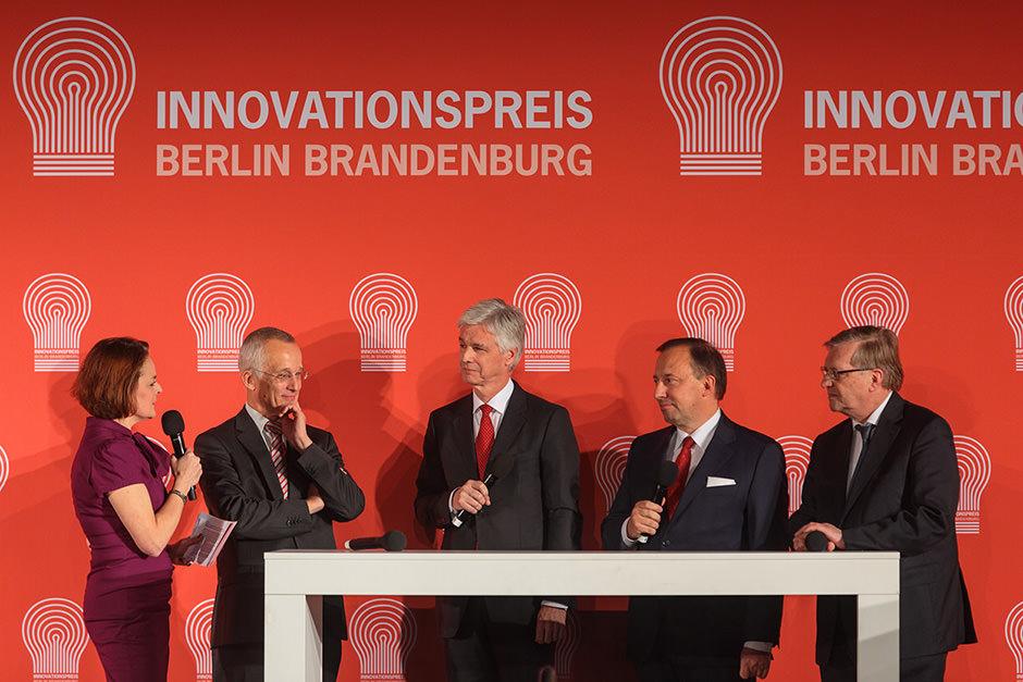 Veranstaltungsfoto der Preisverleihung Innovationspreis Berlin Brandenburg an der Universität in Potsdam