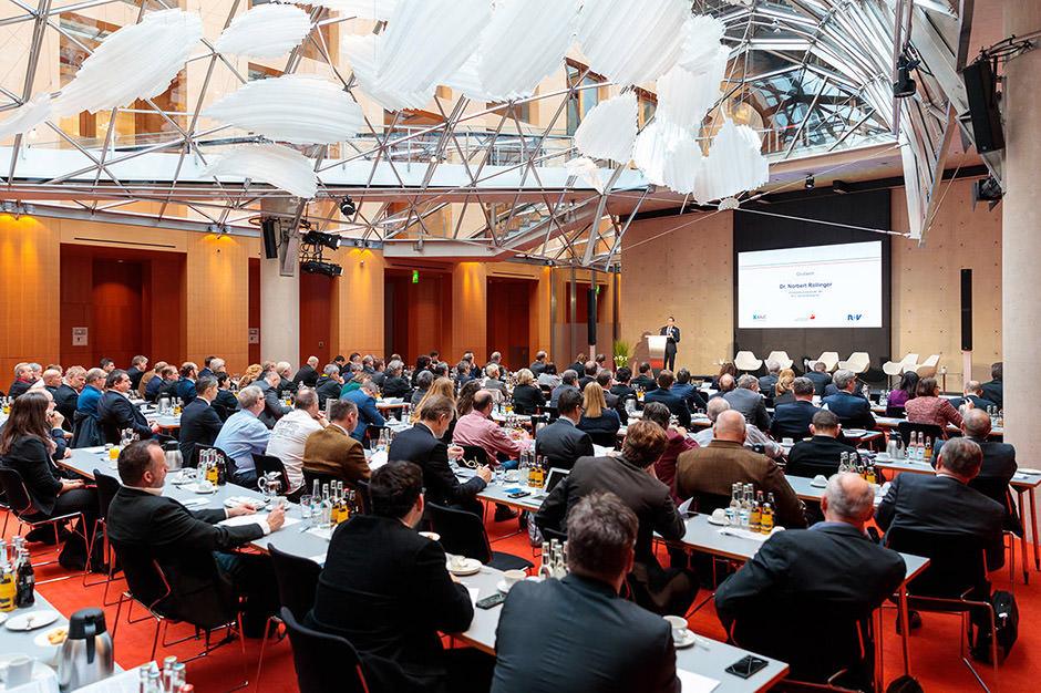 Veranstaltungsfoto einer Tagung in Berlin