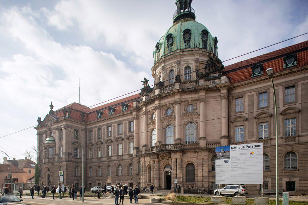 Rathaus Potsdam - Ort der standesamtlichen Trauung