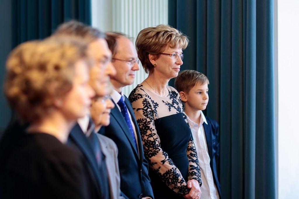 Die Gäste während der Trauung im Rathaus Potsdam