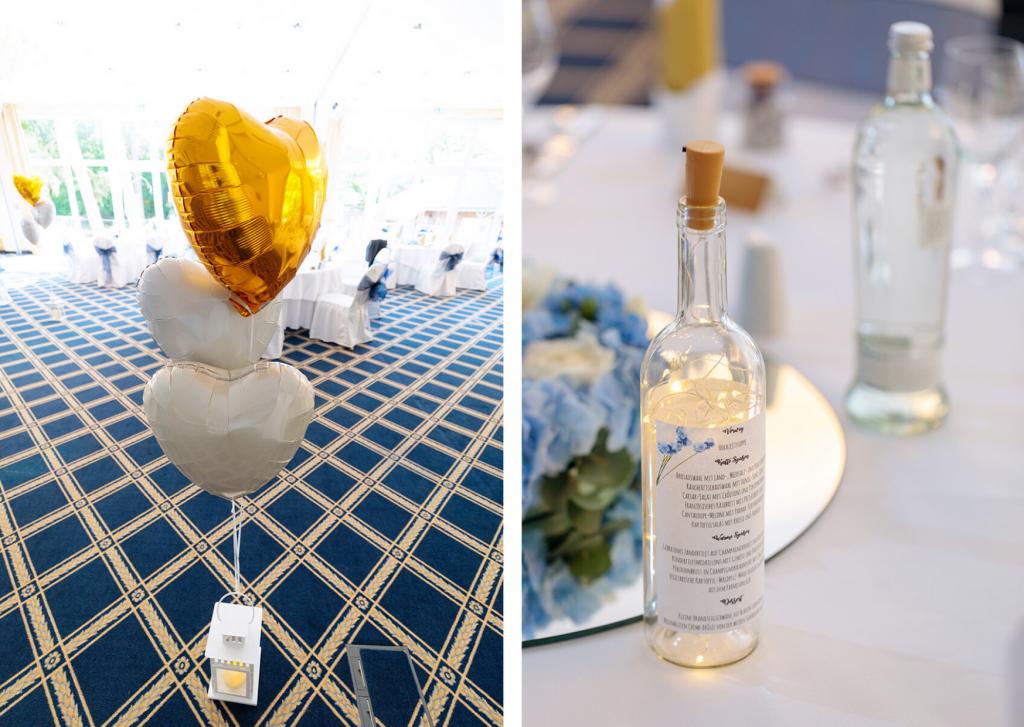 Hochzeitsdekoration im Inselhotel Potsdam