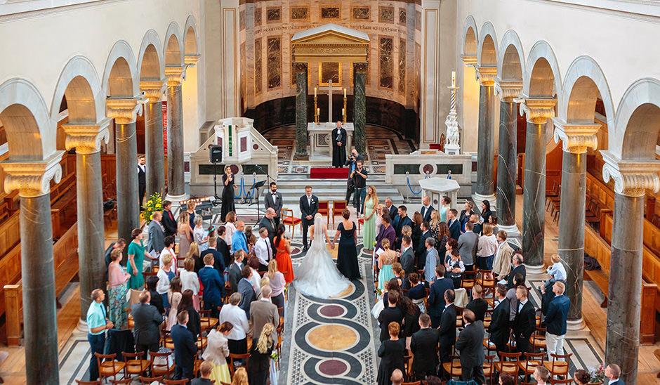 kirchliche Trauung in der Friedenskirche Potsdam