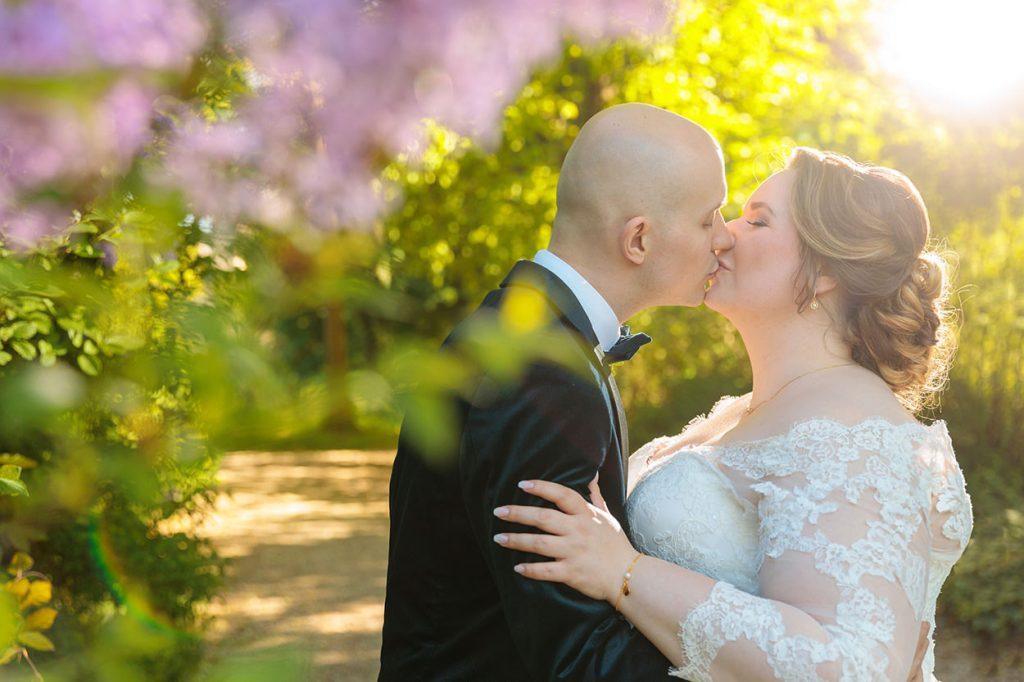 Hochzeitsfotos im Park Jagdschloss Glienicke