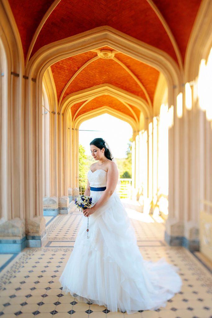 Die Braut im Schloss Babelsberg