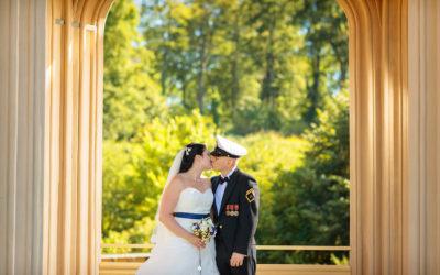 Eine Hochzeit in der Kirche am Neuendorfer Anger
