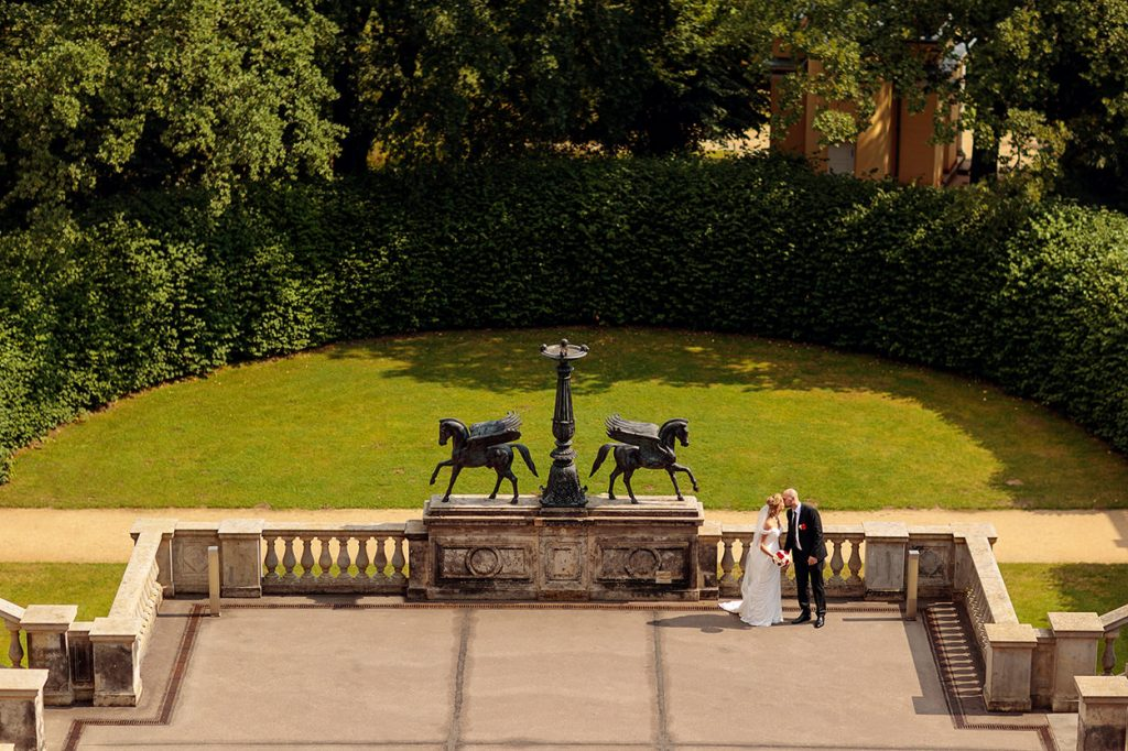 Hochzeitsfotos auf dem Belvedere Potsdam