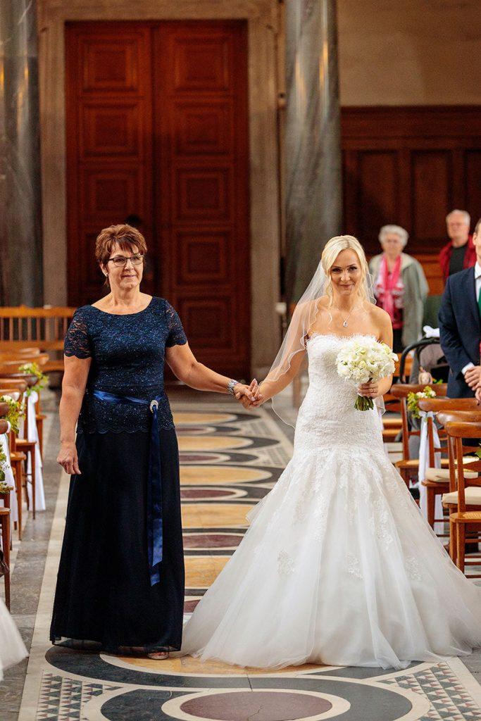 Einzug der Braut in die Friedenskirche Potsdam