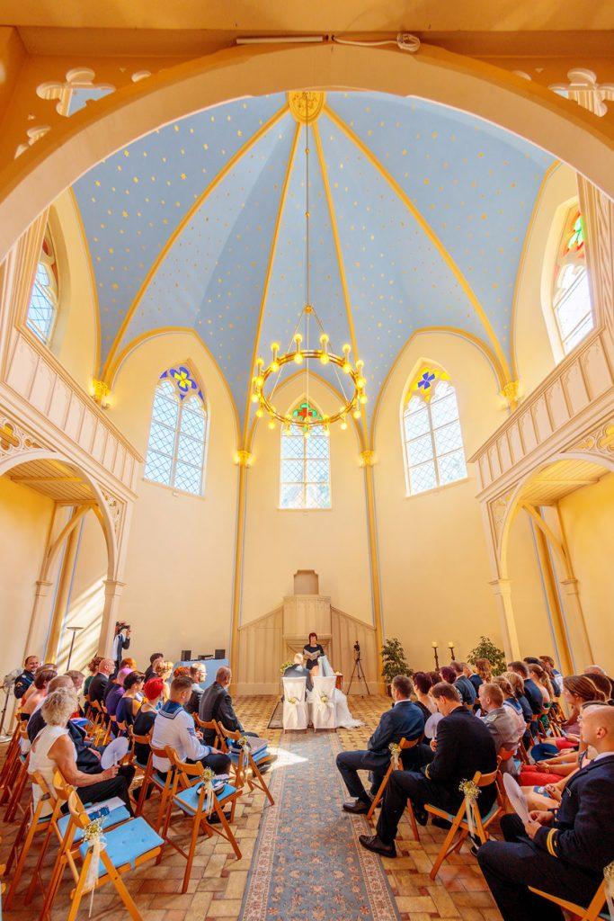 Innenraum Alte Neuendorfer Kirche
