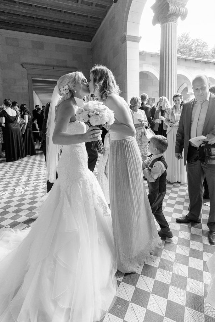 Beglückwünschung des Brautpaares im Park Sanssouci