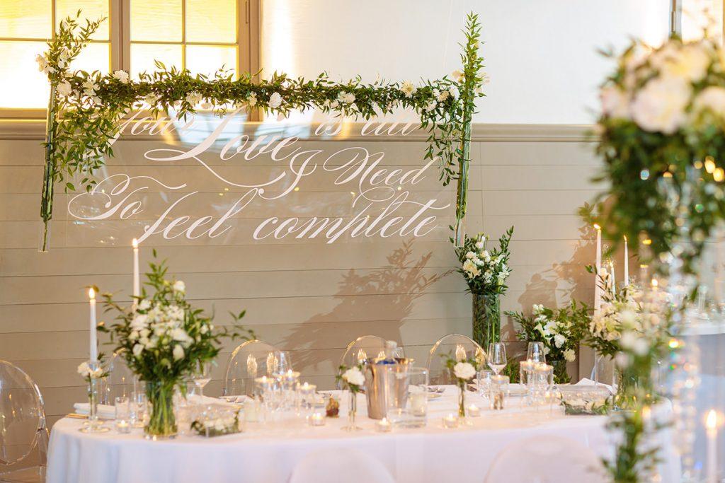 Hochzeitsfeier im Kutschstall in Potsdam