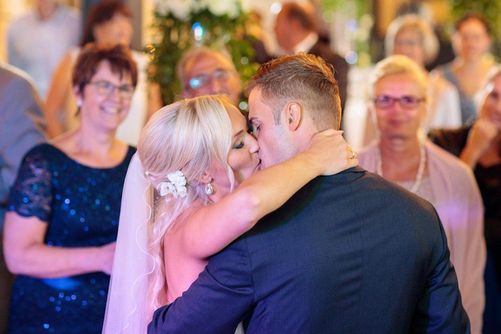 Momente während den Hochzeitsfeier