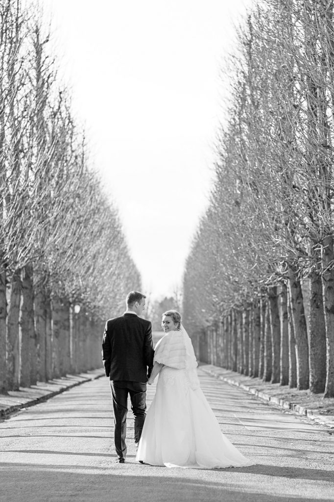 Paarfotos im Park Sanssouci gehen auch im Februar