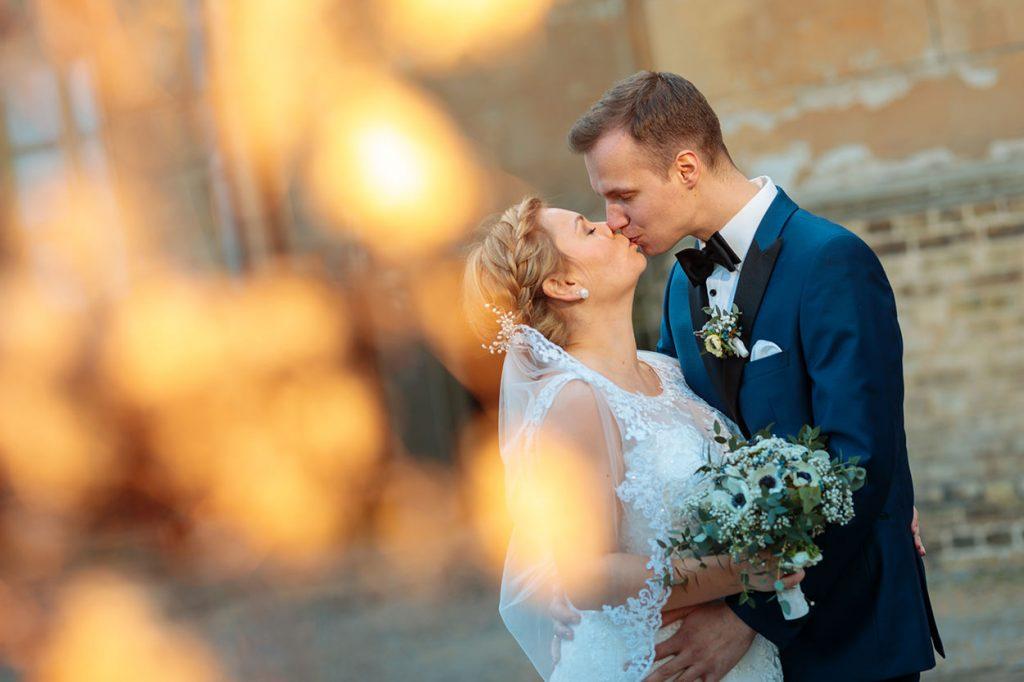 Hochzeitsfotos im Park Sanssouci gehen auch im Februar