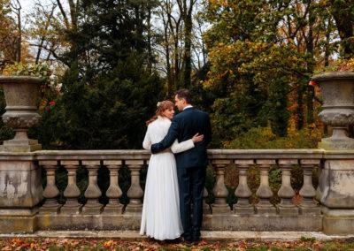 Brautpaare, die im Oktober geheiratet haben