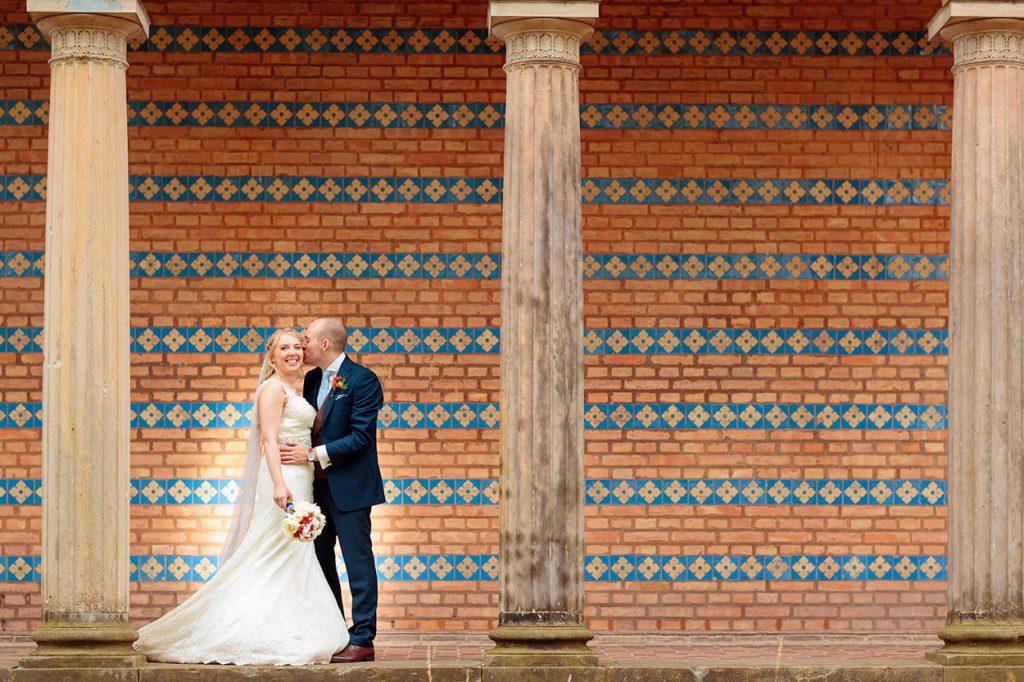 Brautpaar vor der Heilandskirche Sacrow