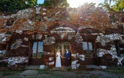 Eine Hochzeit in der Muschelgrotte Potsdam