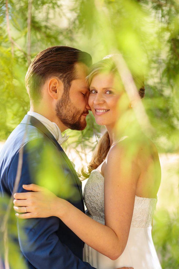 Das Brautpaar im Neuen Garten Potsdam