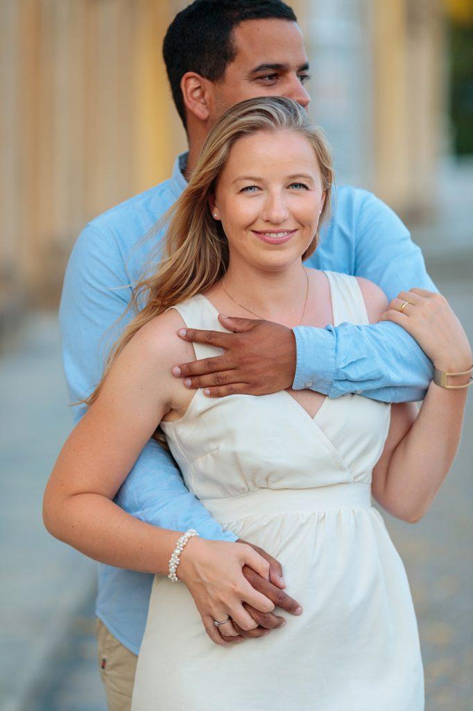 Verlobungsfotos am Schloss Sanssouci Potsdam