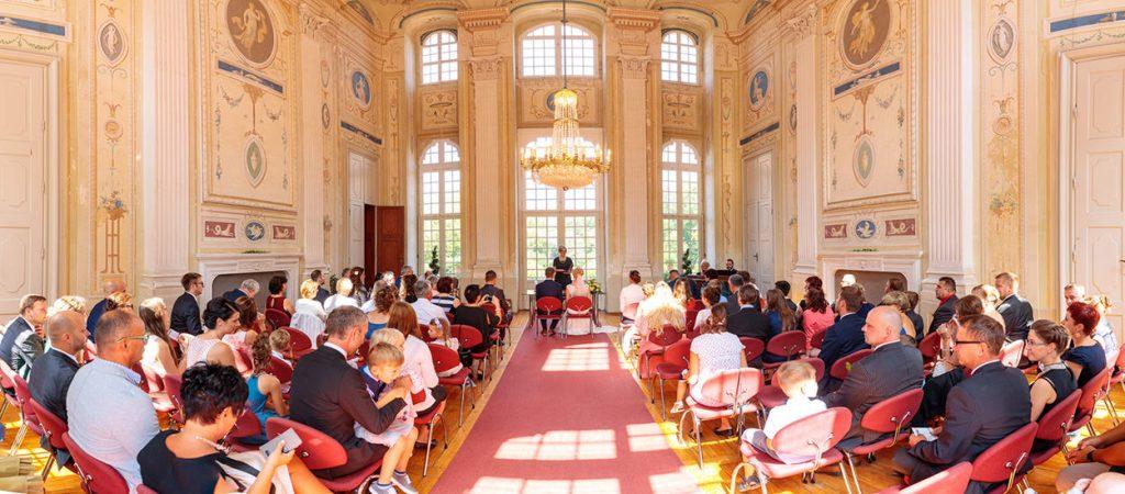Eine Hochzeit auf Barockschloss Neschwitz