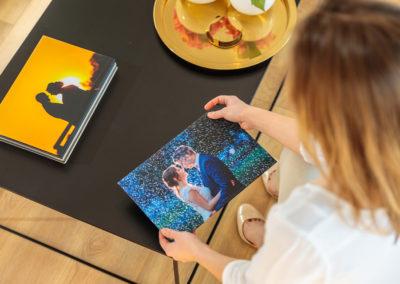 Cover Starlight als Veredelungsoptions für das Hochzeitsalbum von Reinhardt & Sommer