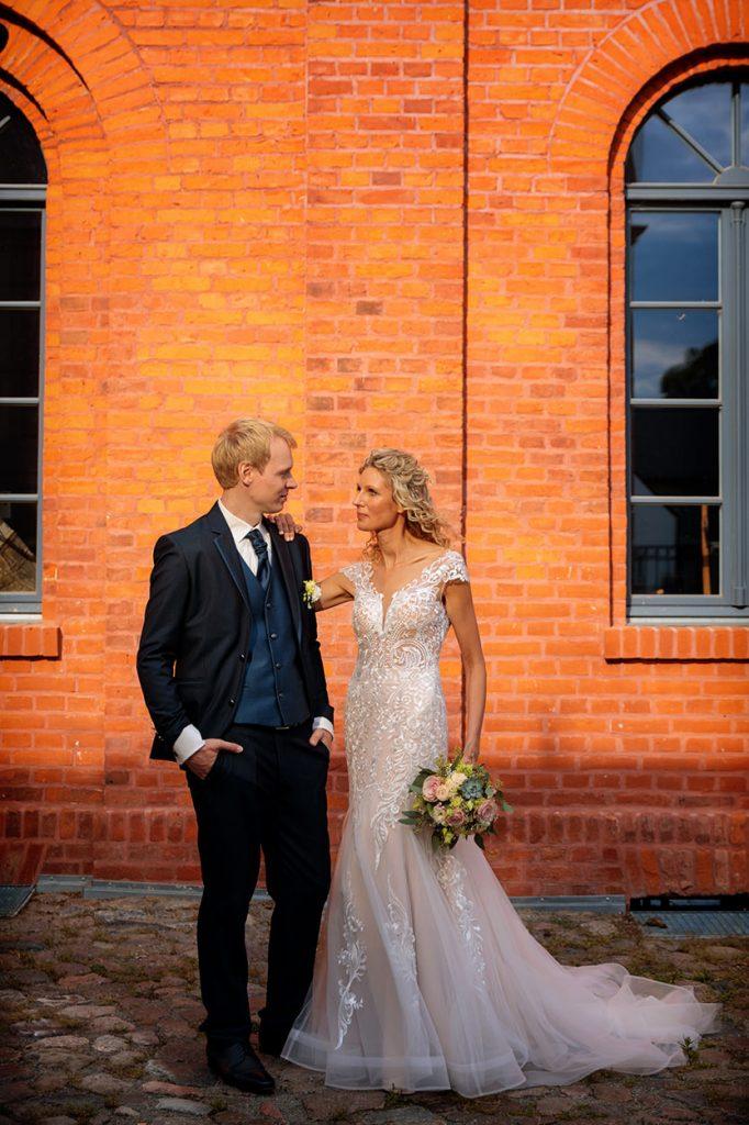 Hochzeitsfotos auf dem Gelände des Landgut Stober