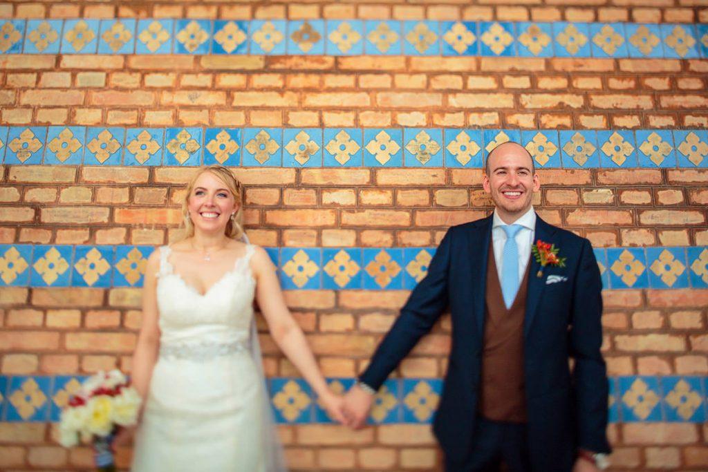 Hochzeitsbilder an der Heilandskirche Sacrow bei Potsdam