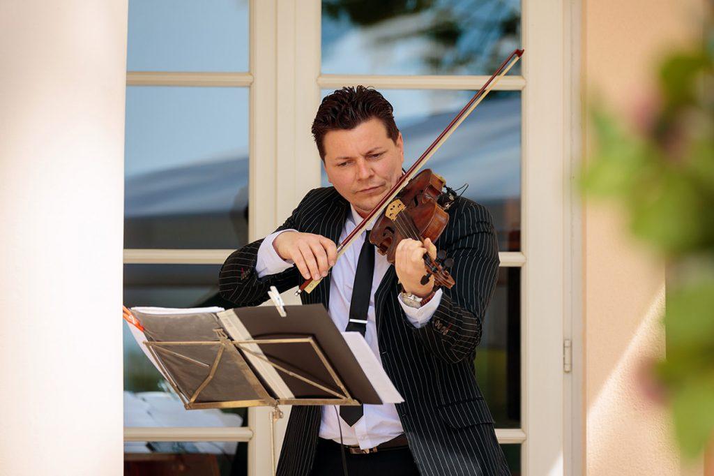 Ferdicilious Violine für Hochzeiten