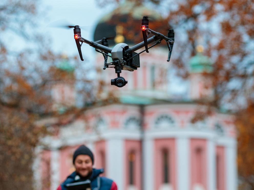 Drohne für Filmproduktion in Berlin mieten