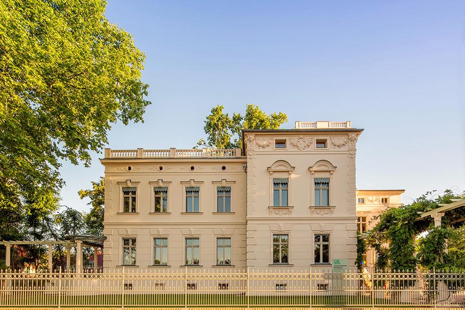 Architekturfoto einer Villa in Potsdam