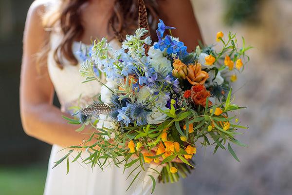 Hochzeitsfloristik Blumen Kopflegenden Berlin
