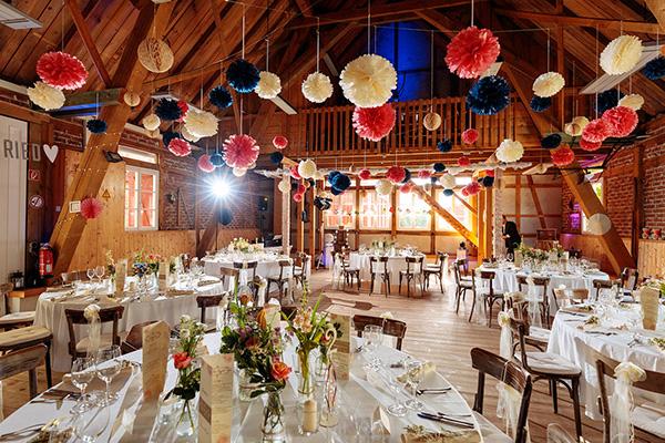 Hochzeitslocation Brandenburg Landhaus Alte Schmiede Scheune
