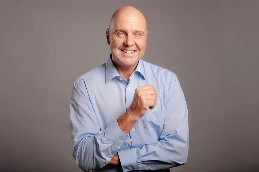 Businessportrait für LinkedIn-Profil von Coach