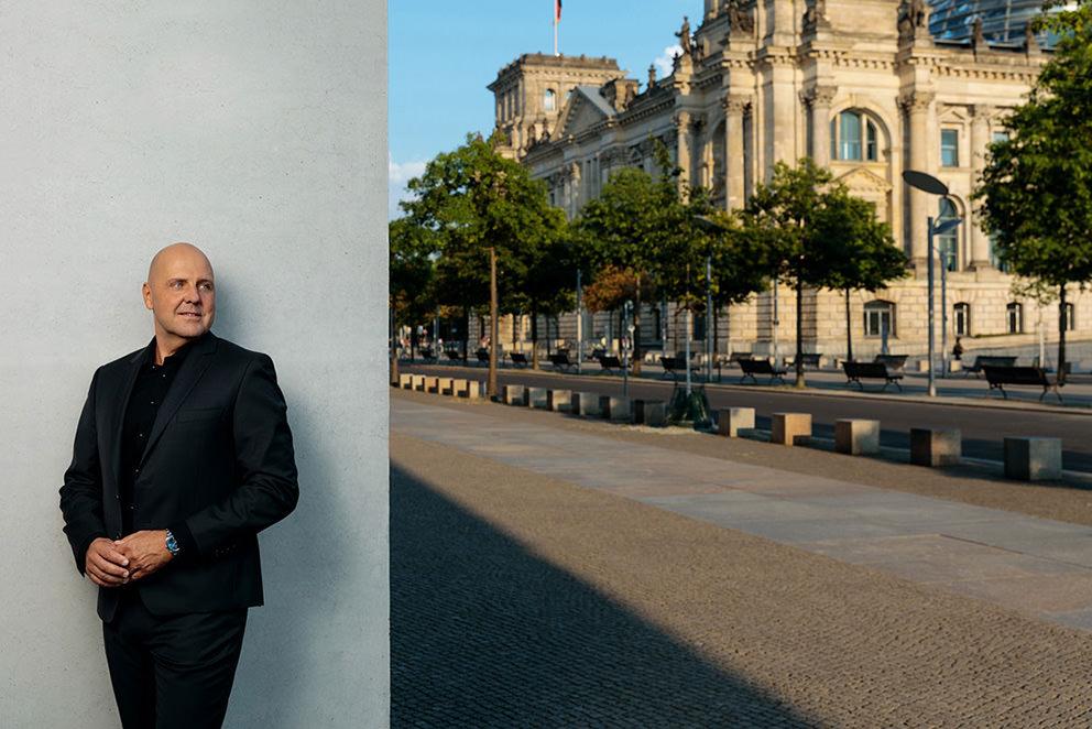 Portraitfoto von Coach for Reichstag in Berlin