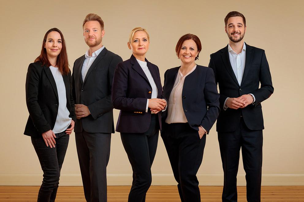 Gruppenfoto von Consultingfirma in Potsdam