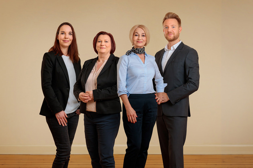Gruppenfoto von Consultinbuero in Potsdam