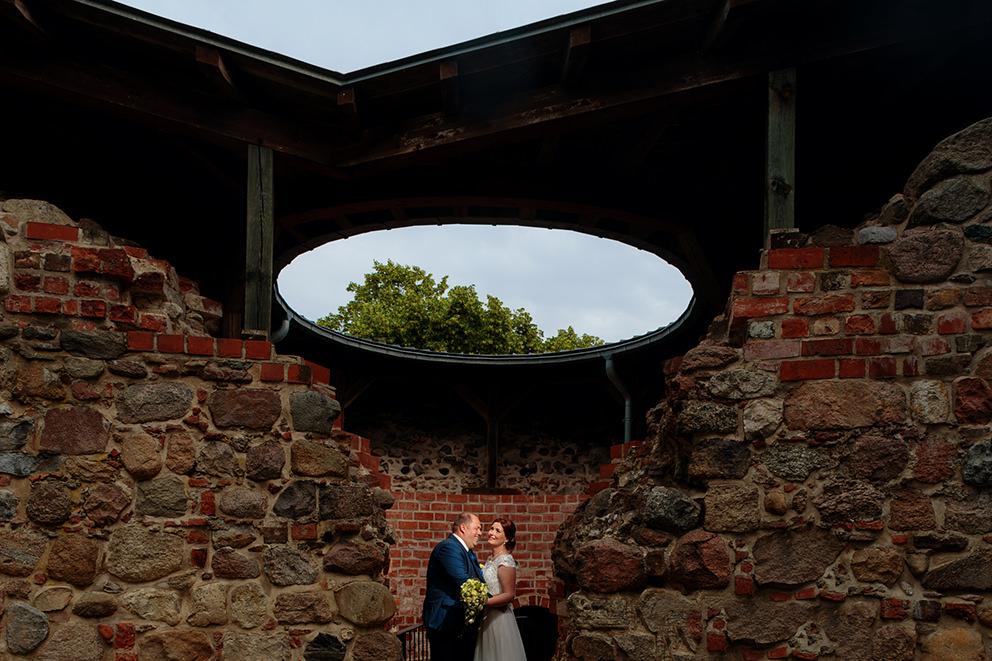 Paarporträt auf der Burg in Bad Belzig