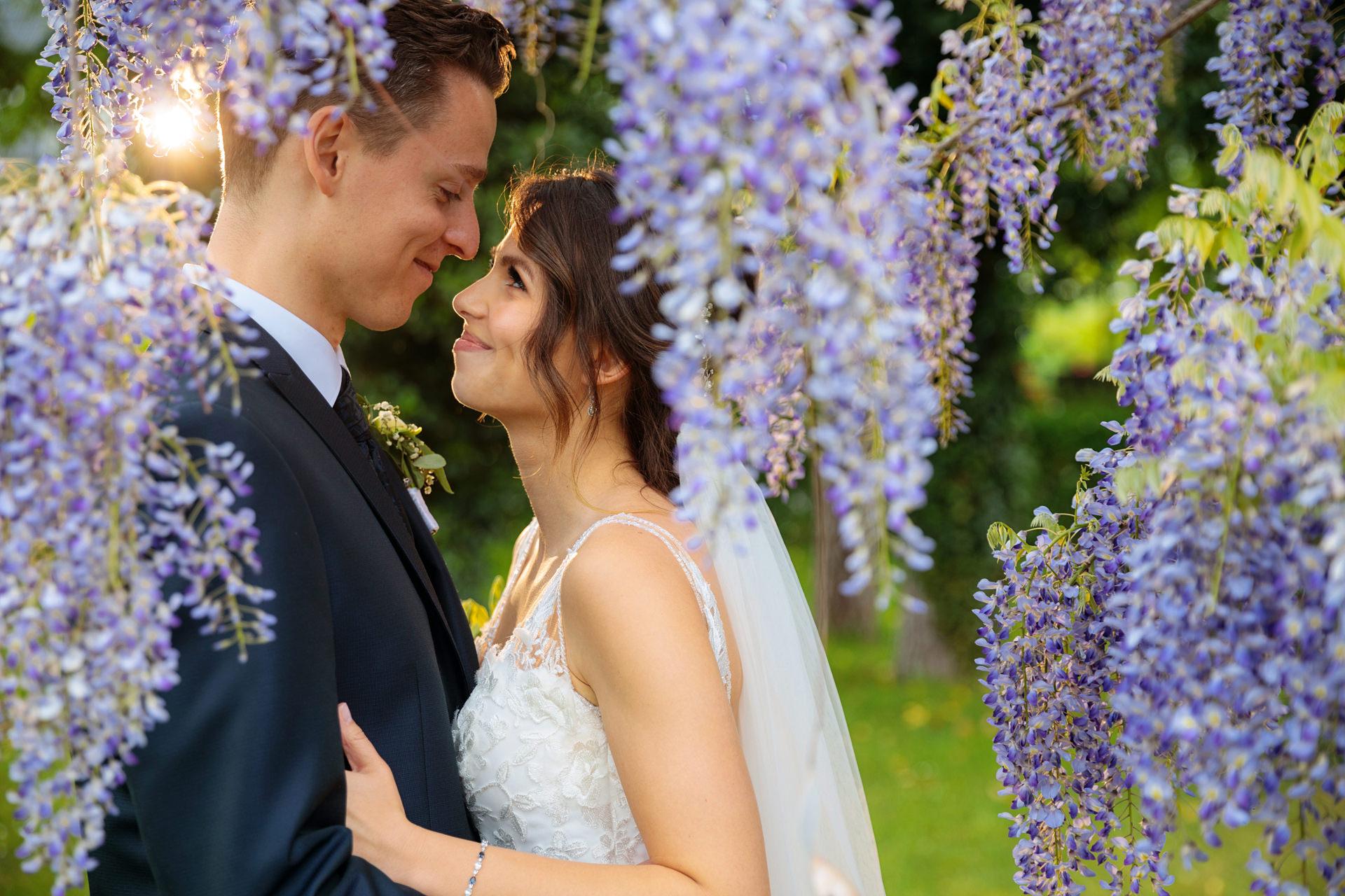 Hochzeitsfoto in Bad Saarow bei einer Hochzeit in Brandenburg