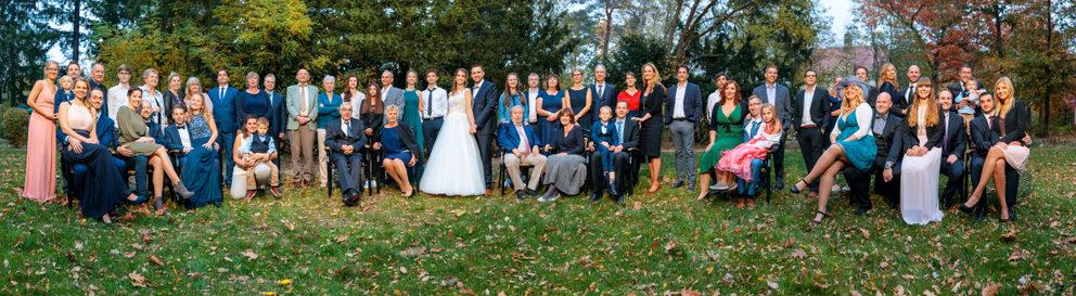 Unser Panoramagruppenfoto im Herbst