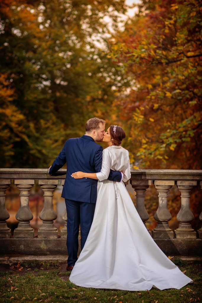Hochzeitsfotos im Herbst im Park Sanssouci Potsdam