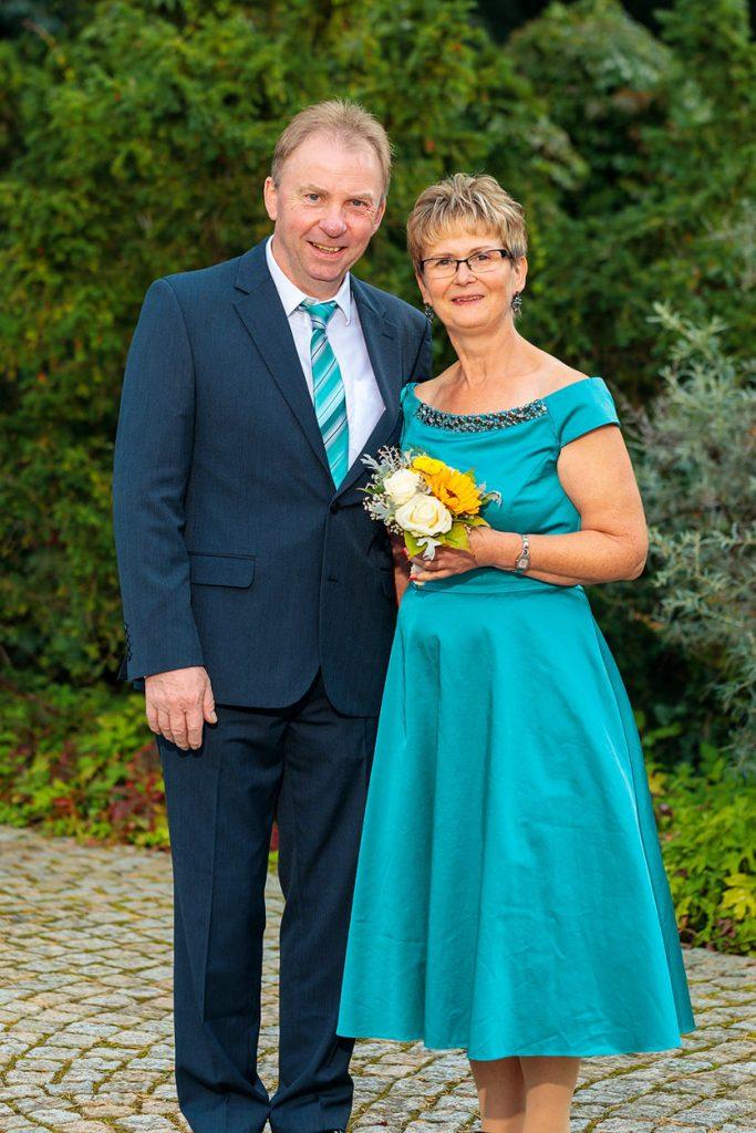 Fotos von den Hochzeitsgästen während der Hochzeitsfeier