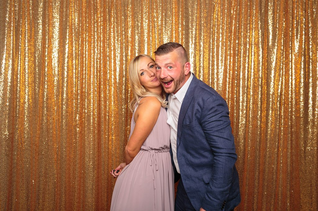 Unsere Fotobox auf der Hochzeitsfeier im Arosa