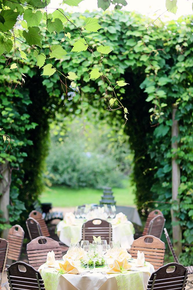 Hochzeitsfeier im kleinen Schloss Babelsberg